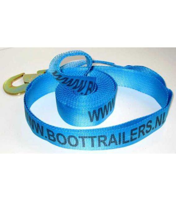Lierband nylon blauw 2500kg met haak