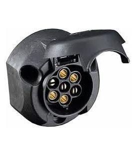 Stekkerdoos autodeel 7-polig zwart