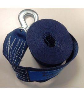 Lierband nylon blauw 2250kg, extra breed