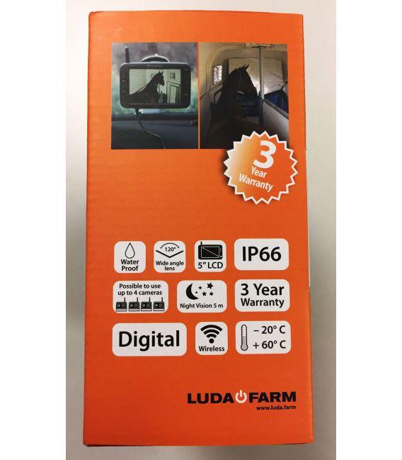 Draadloze camera voor paardentrailers