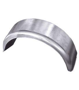 """Spatscherm staal 2-zijde rond 14"""""""