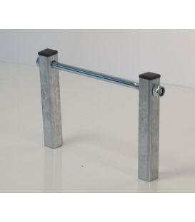 Kielrolhouder 200mm koker 40 compleet