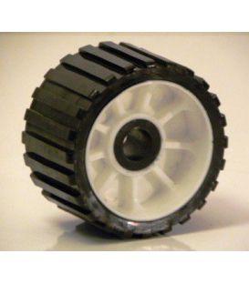Kimrol 128,5x75mm zwart/witte velg