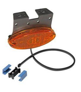 Zijmarkeringslampen Aspöck LED op steun naar achteren