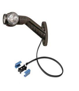 Zijmarkeringslamp Aspöck LED Superpoint links