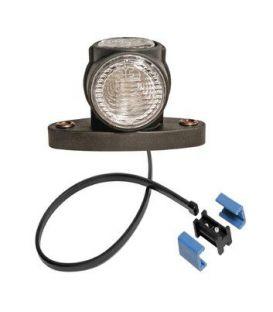 Zijmarkeringslamp Aspöck LED Superpoint 3 korte uitvoering