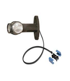 Zijmarkeringslamp Aspöck LED Superpoint 3 met platte voet
